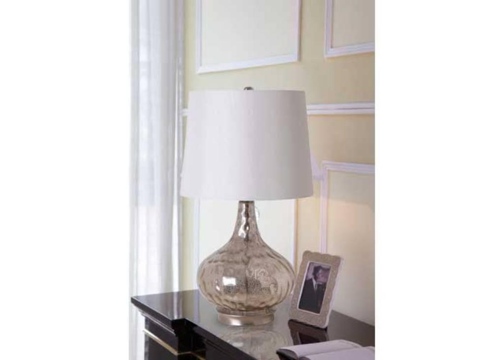 glass bedroom lamp photo - 4