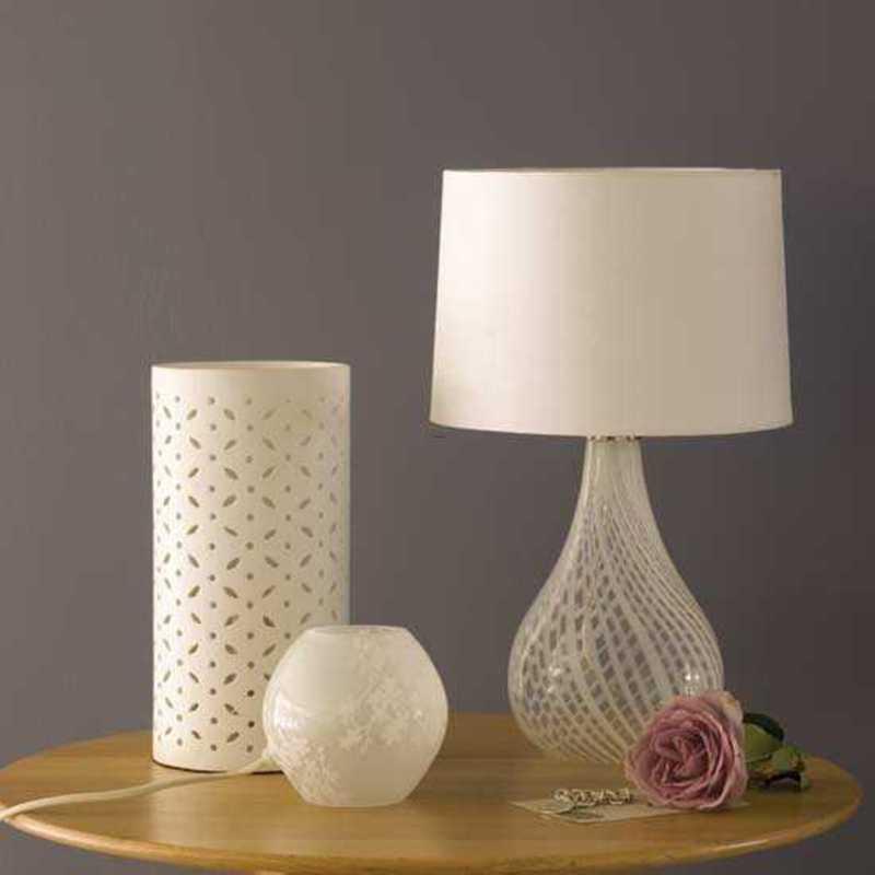 glass bedroom lamp photo - 7