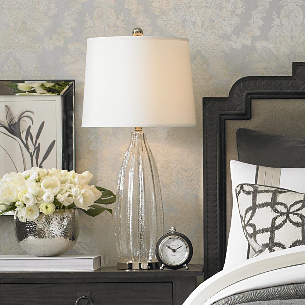 glass bedroom lamp photo - 9