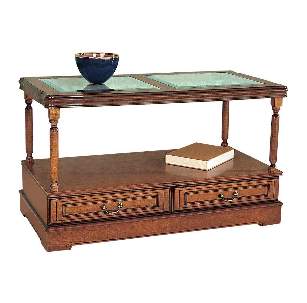 glass coffee table design classic photo - 1