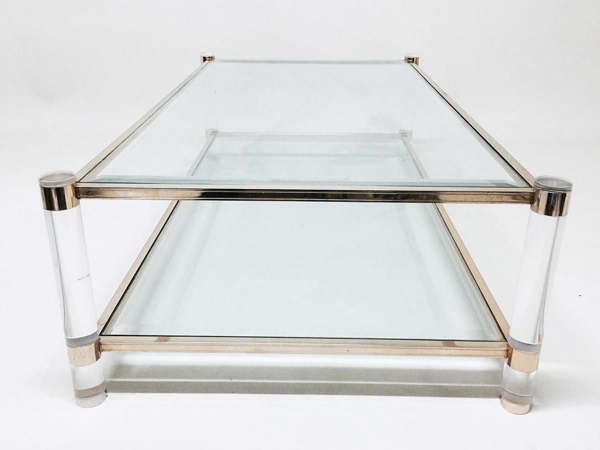 glass coffee table design classic photo - 10