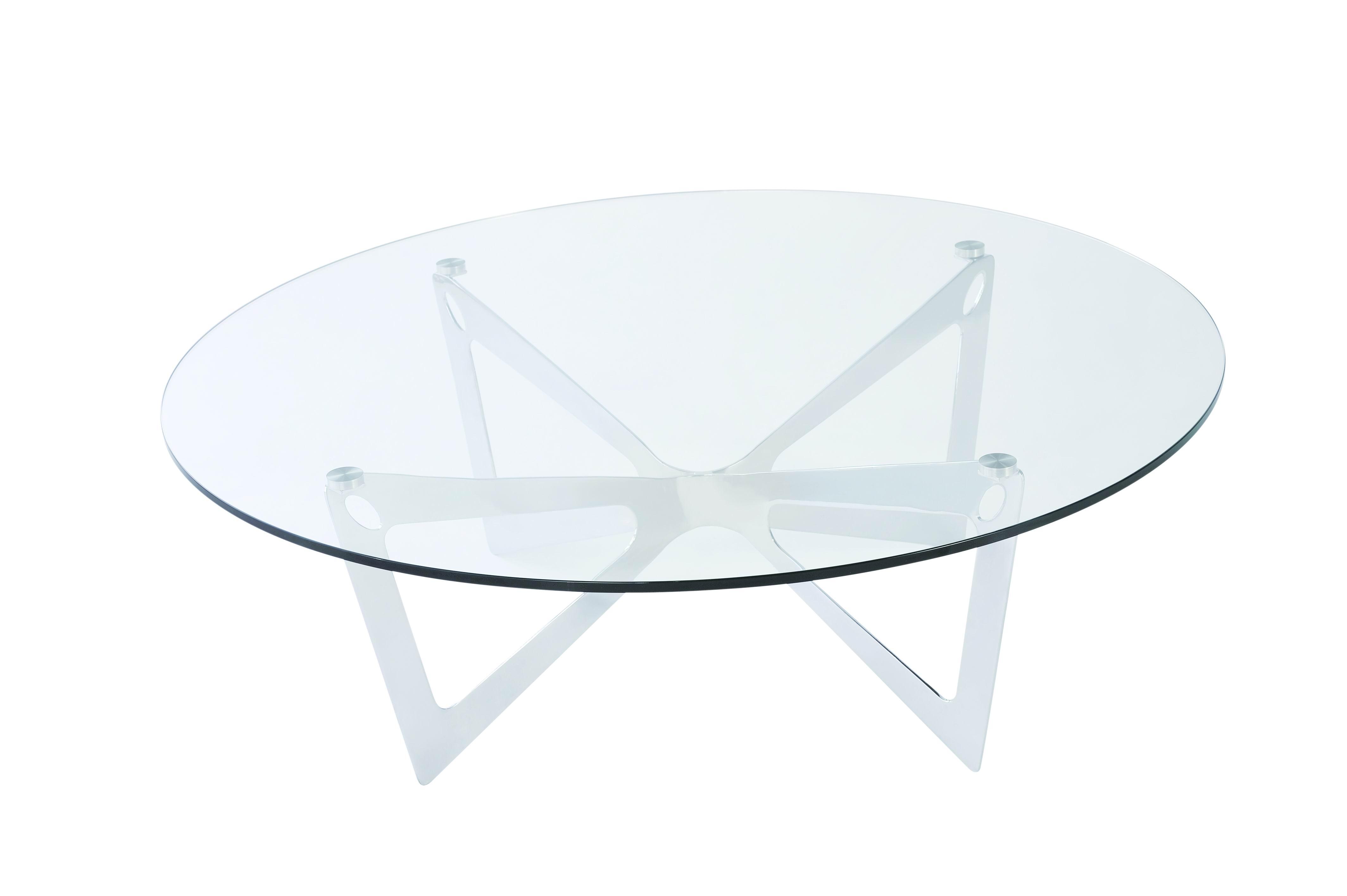 glass coffee table design classic photo - 2