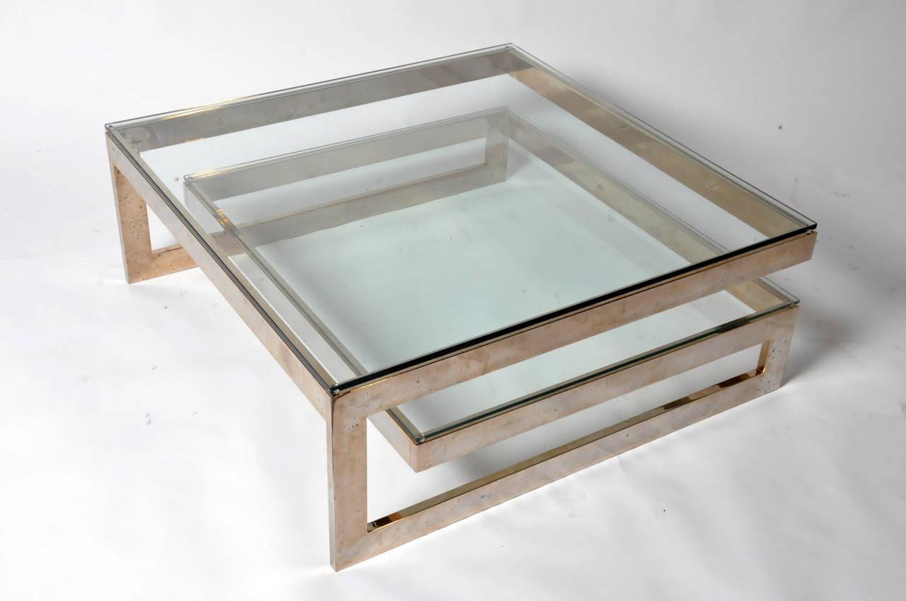 glass coffee table design classic photo - 9