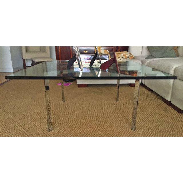 glass coffee table design within reach photo - 1