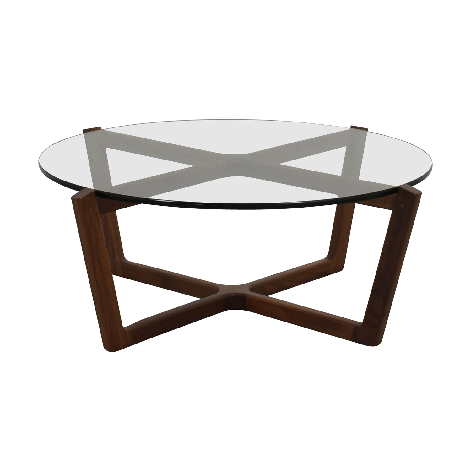 glass coffee table design within reach photo - 10
