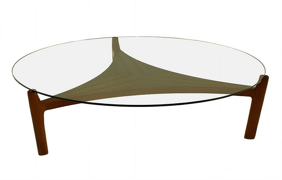 glass coffee table design within reach photo - 3