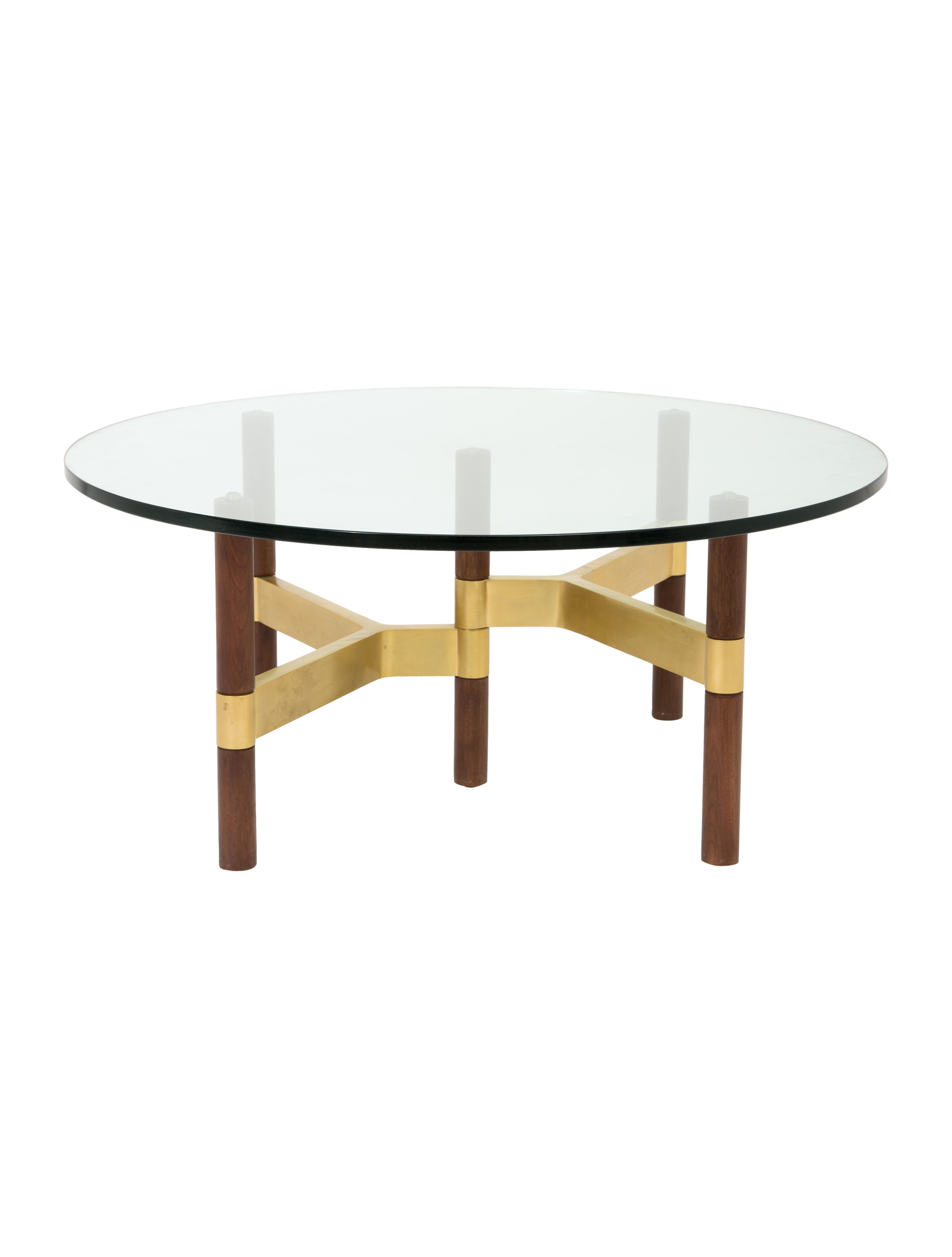 glass coffee table design within reach photo - 4