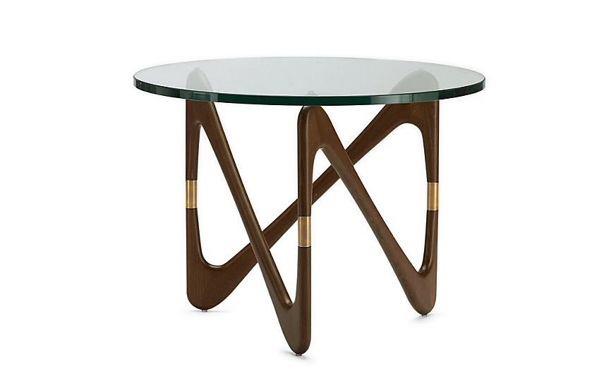 glass coffee table design within reach photo - 5