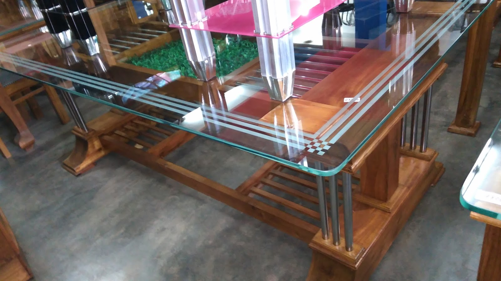 glass furniture design india photo - 10