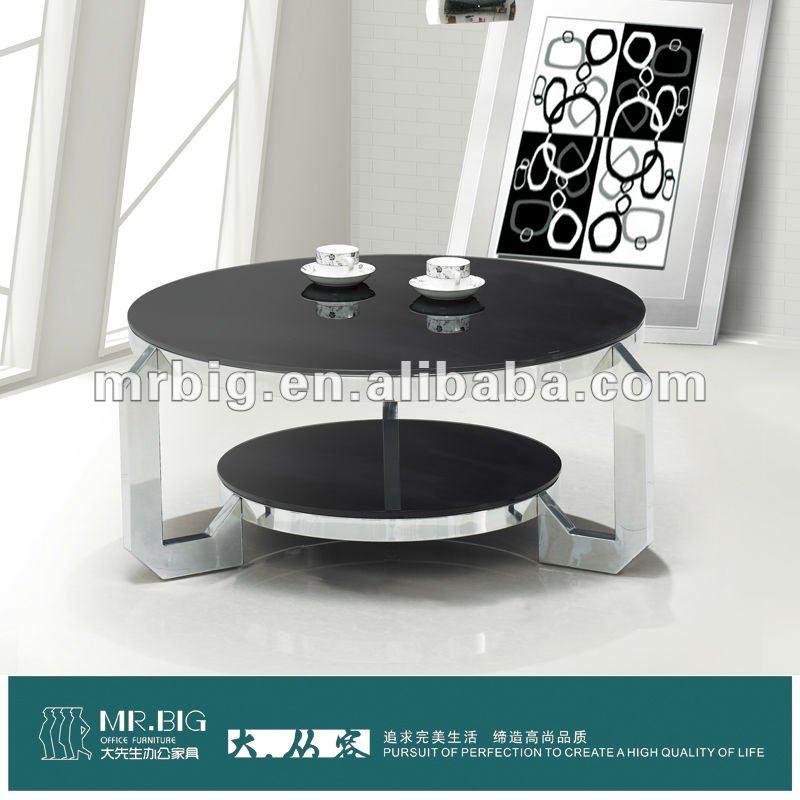 glass tea table design photo - 2
