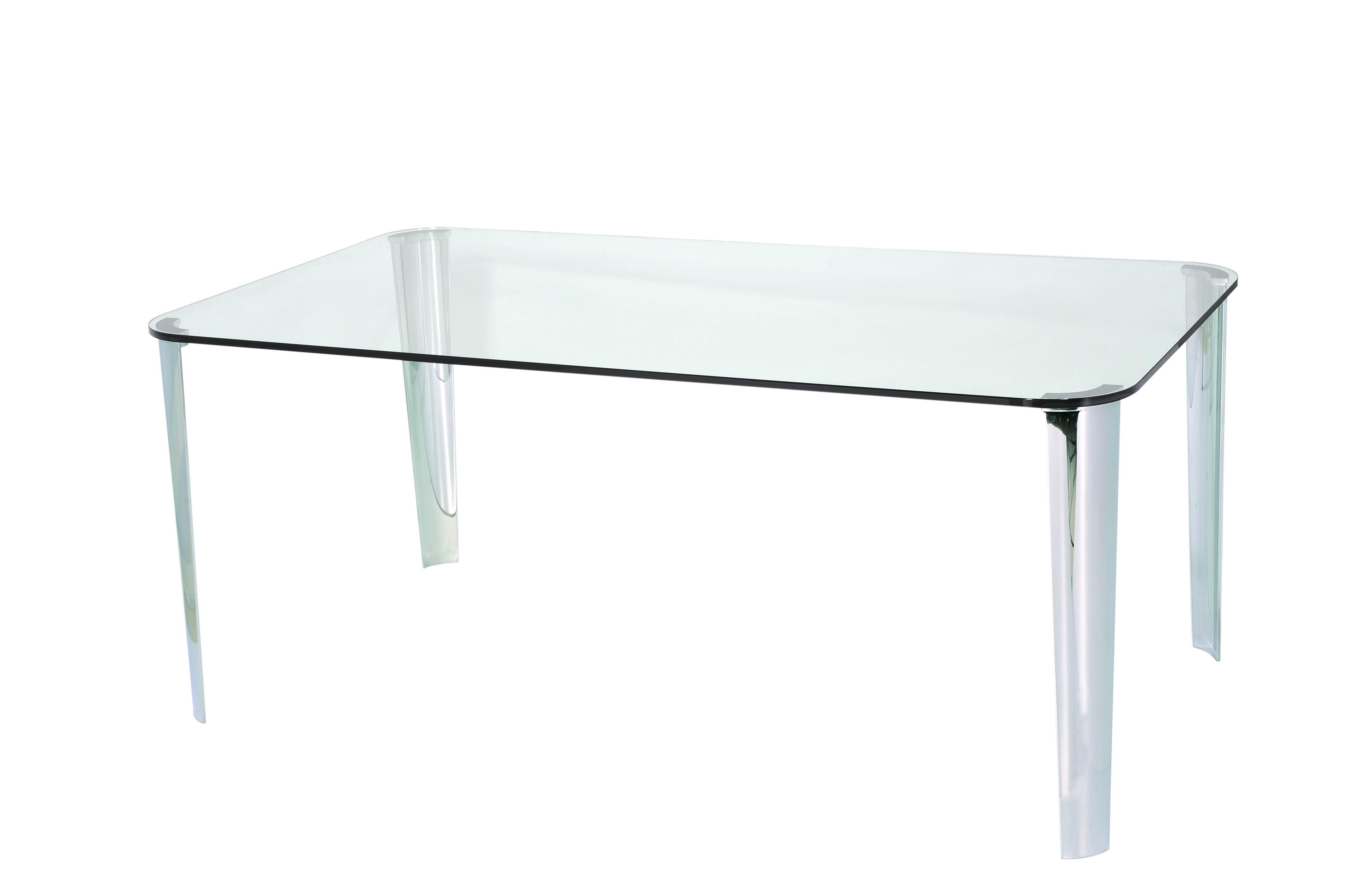 glass tea table design photo - 7