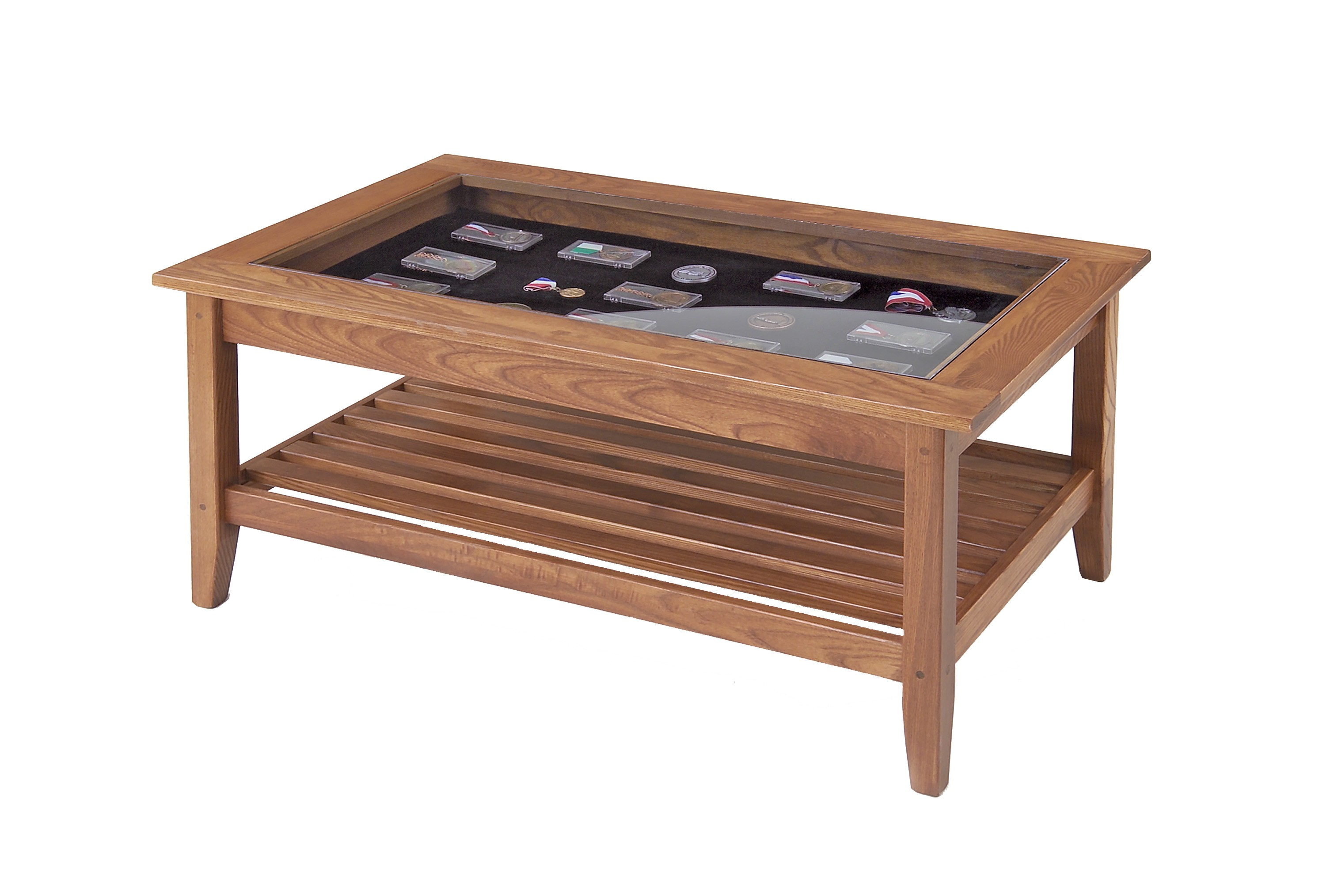 glass top coffee table design plans photo - 9
