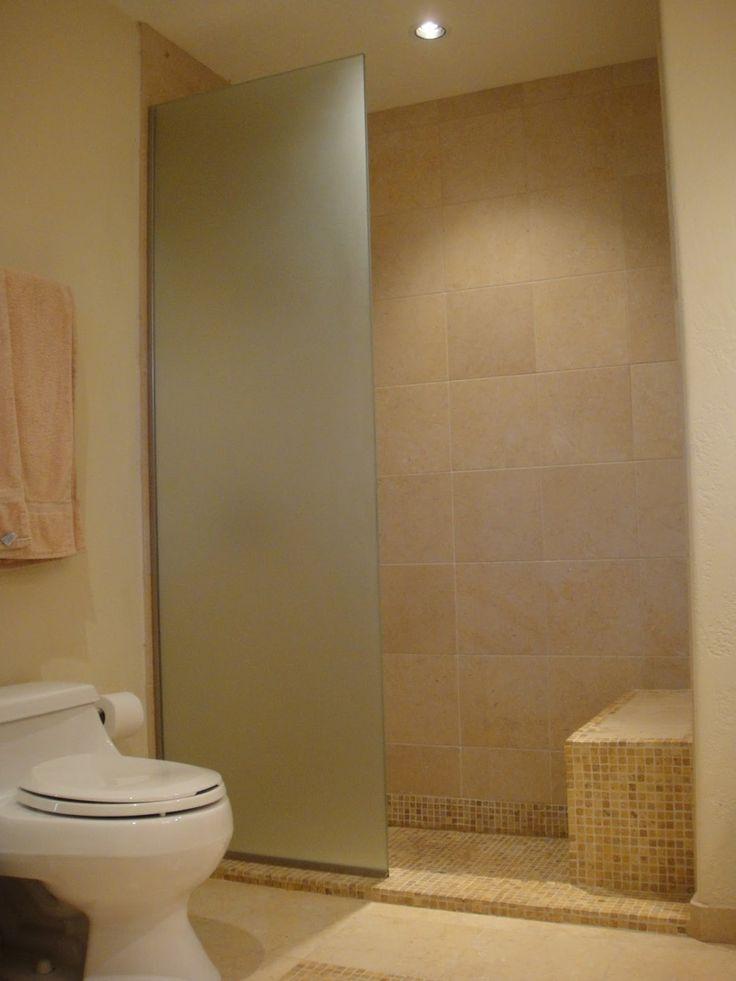 glass wall dividers bathroom photo - 10