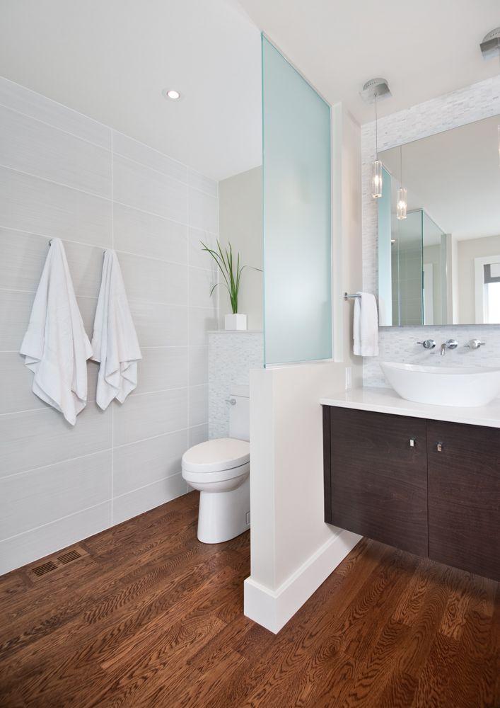 glass wall dividers bathroom photo - 6