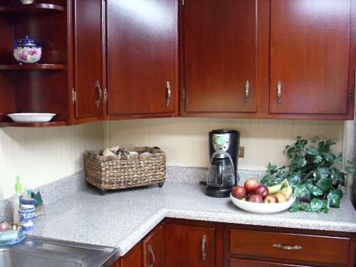 glazing kitchen cabinets gel stain photo - 2
