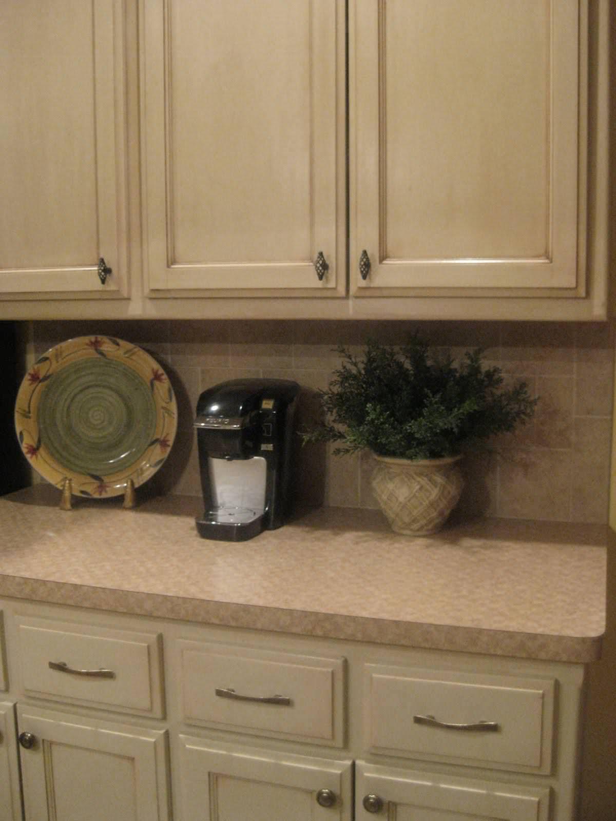 glazing kitchen cabinets gel stain photo - 4