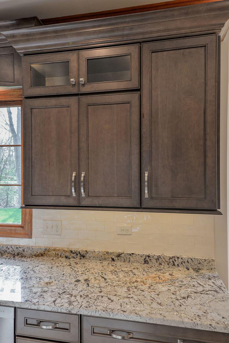 glazing kitchen cabinets gel stain photo - 7