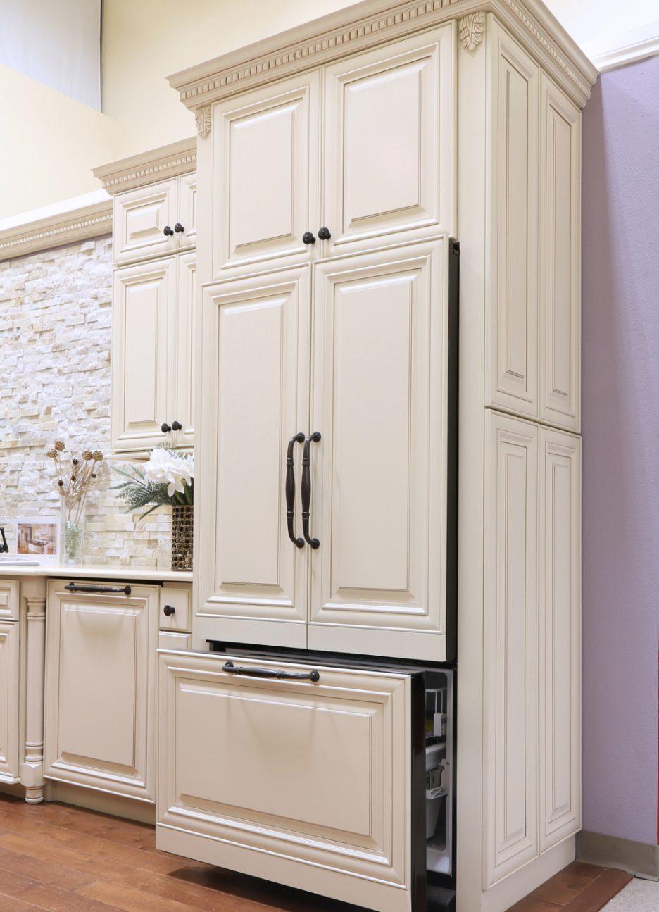 glazing kitchen cabinets gel stain photo - 9
