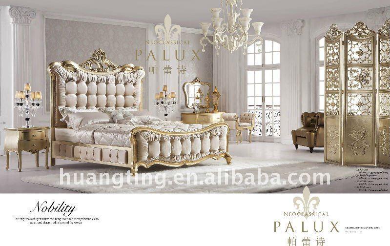 Impressive Mirrored Bedroom Set Model