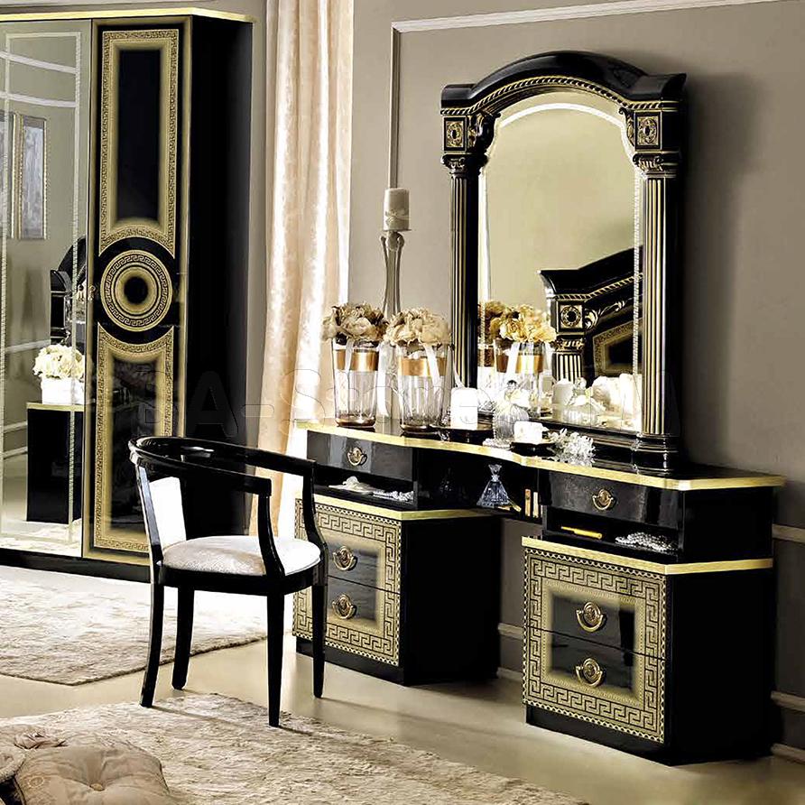 Gold mirrored bedroom furniture | Hawk Haven