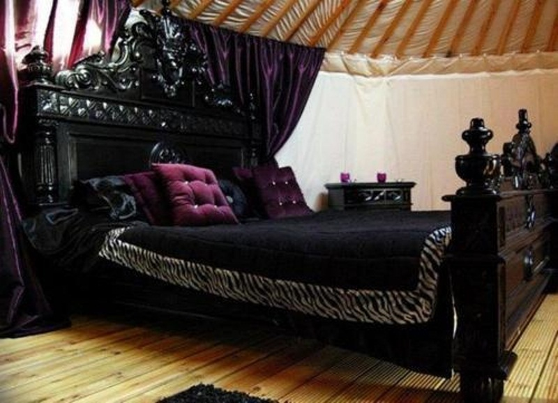 gothic bedroom design pictures photo - 10