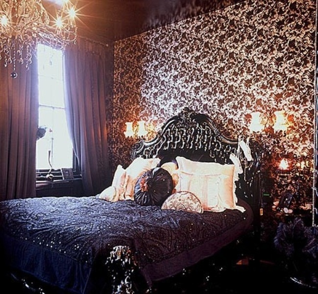 gothic bedroom design pictures photo - 8
