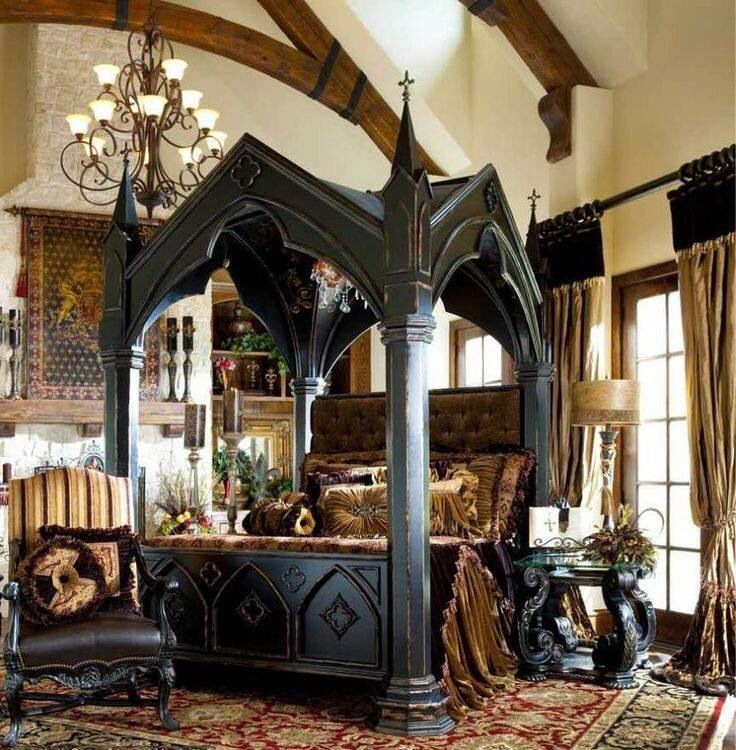gothic victorian bedroom pictures photo - 2