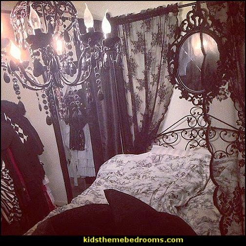 gothic victorian bedroom pictures photo - 3