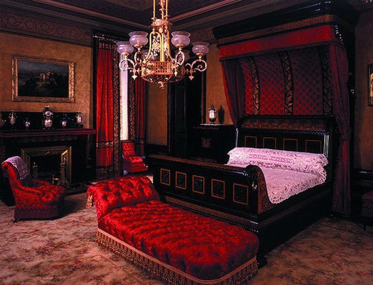 gothic victorian bedroom pictures photo - 4