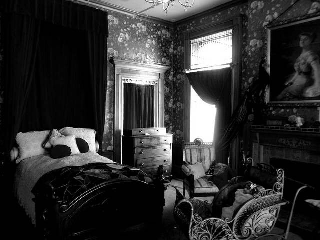 gothic victorian bedroom pictures photo - 9
