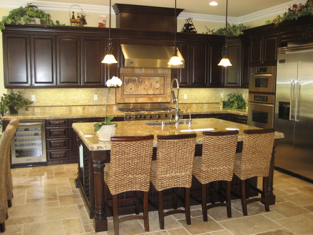 gourmet country kitchen designs photo - 4