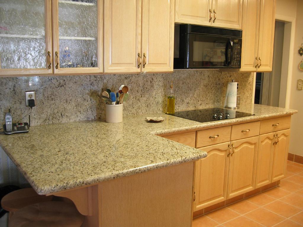 granite kitchen counter pictures photo - 1
