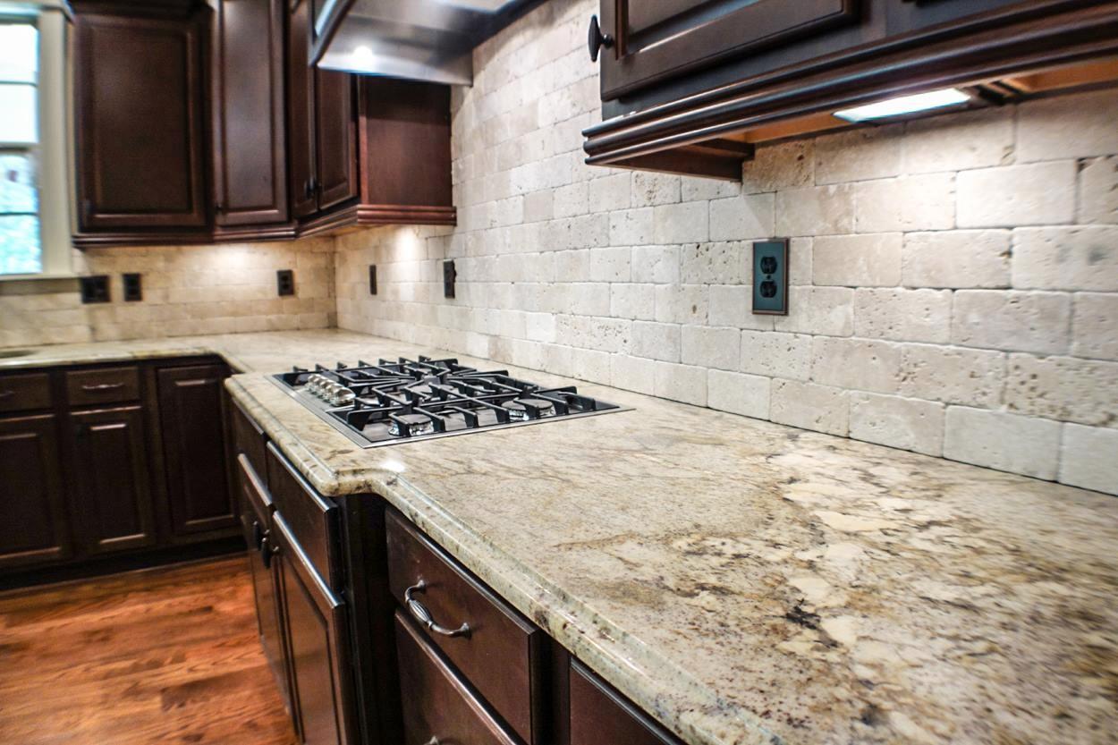 granite kitchen counter pictures photo - 7
