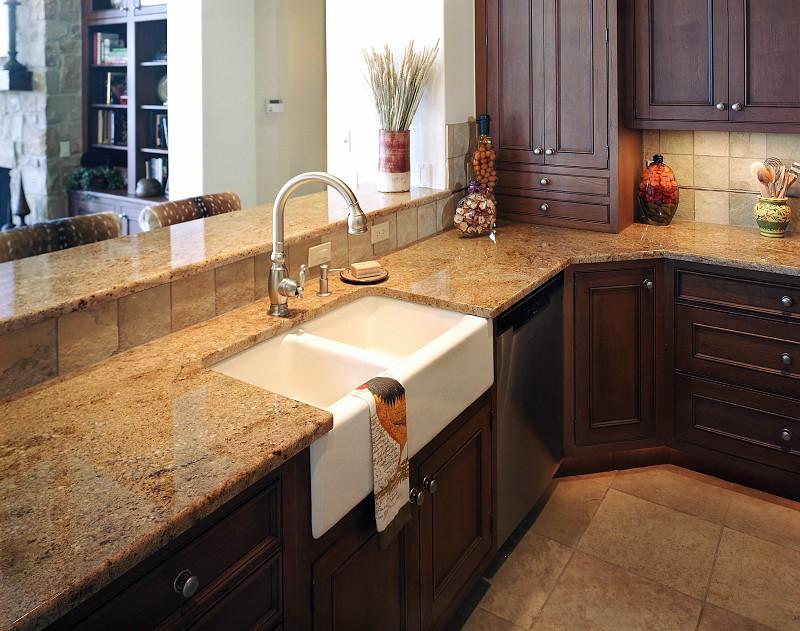 granite kitchen counter pictures photo - 9