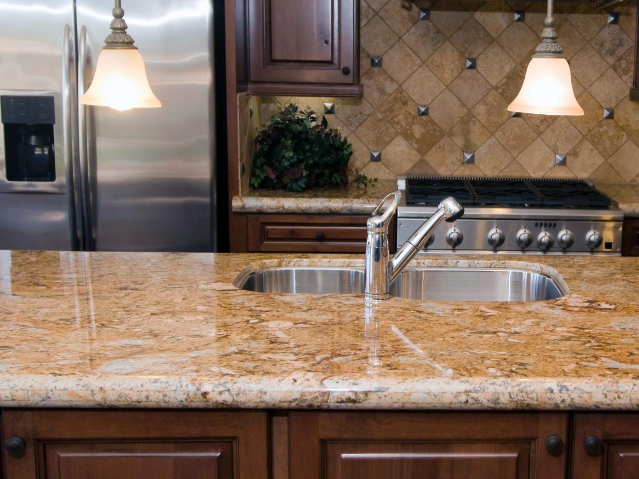 granite kitchen countertops pics photo - 2