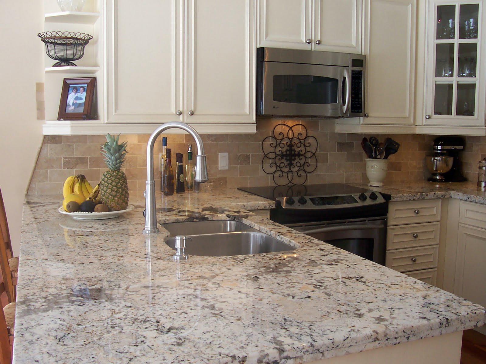 granite kitchen countertops pics photo - 3