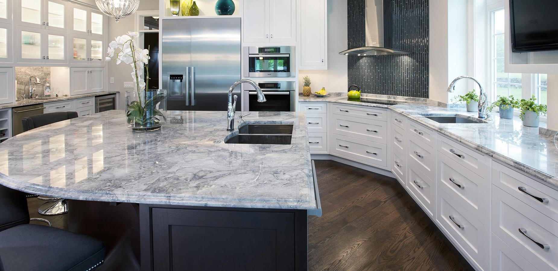 granite kitchen countertops pics photo - 4