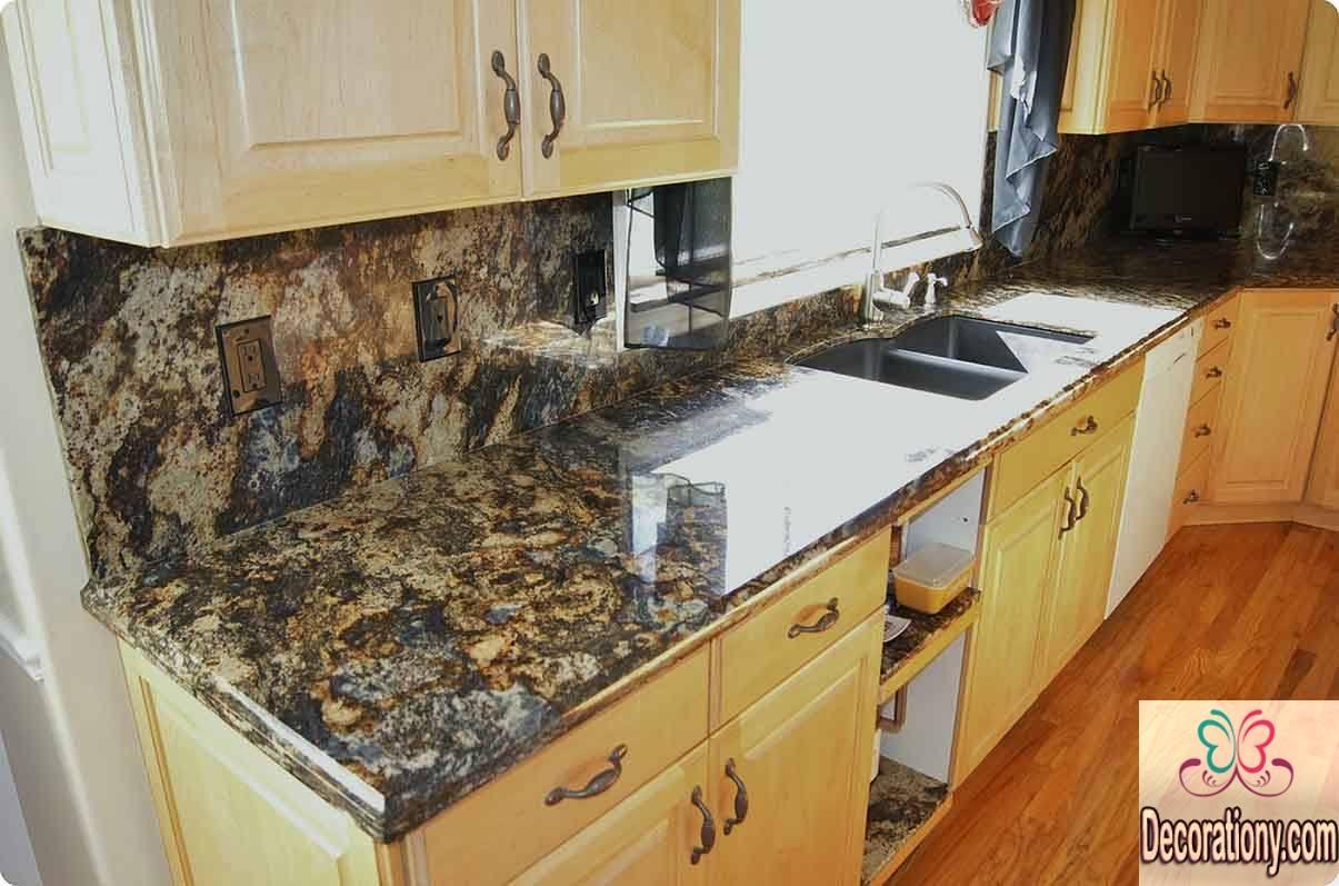 granite kitchen countertops pics photo - 6