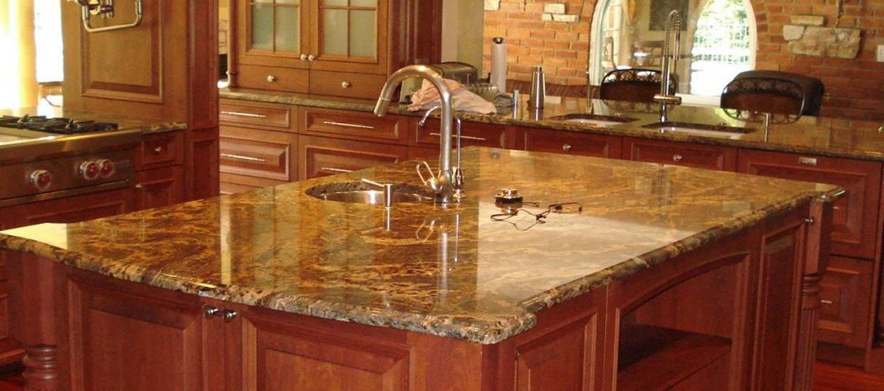 granite kitchen countertops pics photo - 8