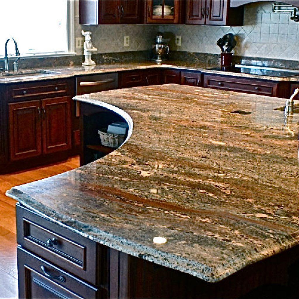granite kitchen countertops pics photo - 9