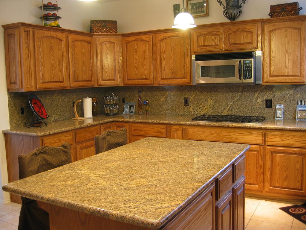 granite kitchen countertops pictures photo - 7