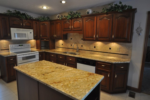 granite kitchen design ideas photo - 2