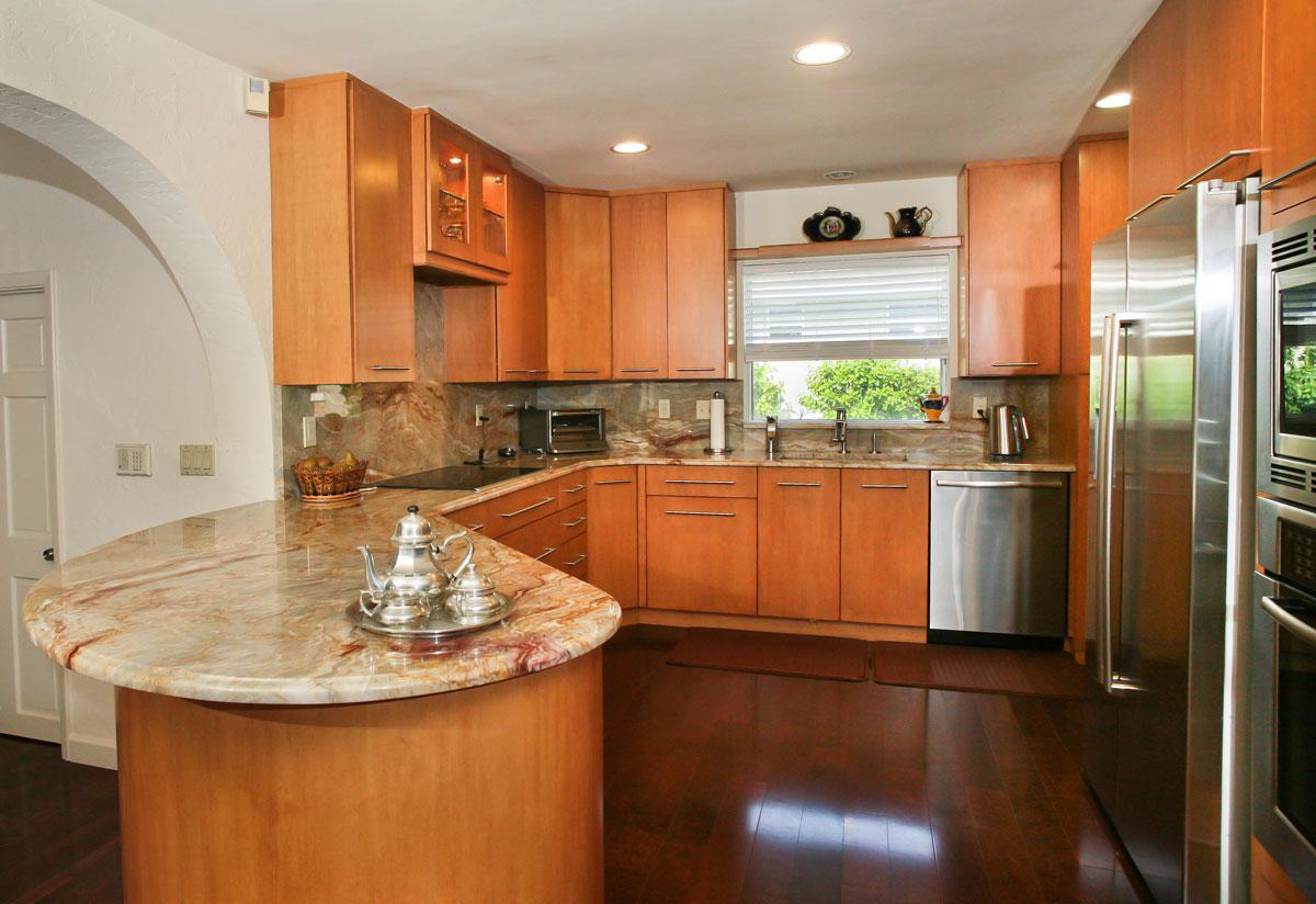 granite kitchen design ideas photo - 3