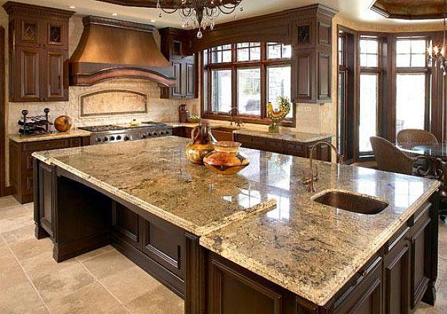 granite kitchen design ideas photo - 4