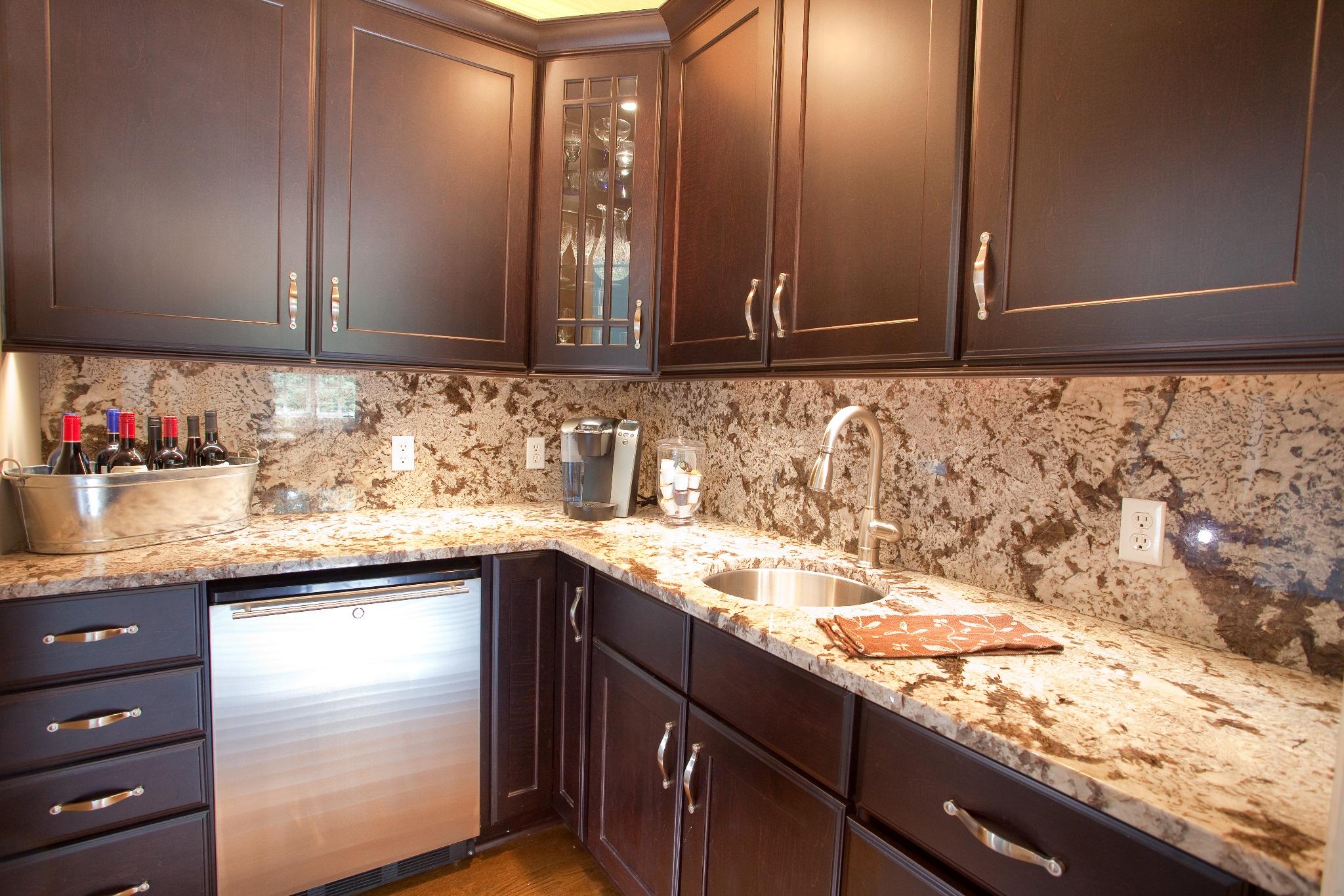 granite kitchen design ideas photo - 6