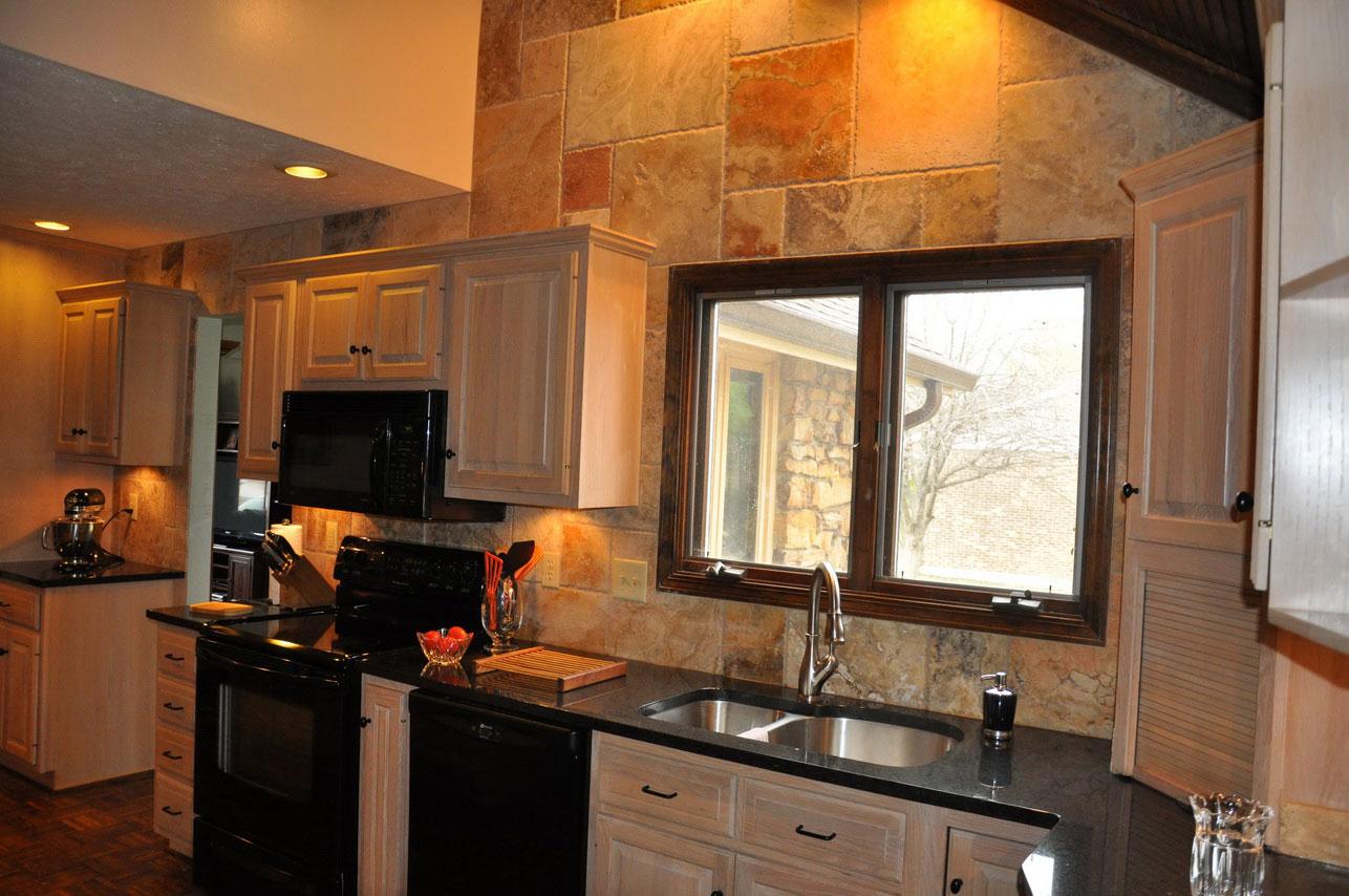 granite kitchen design ideas photo - 7