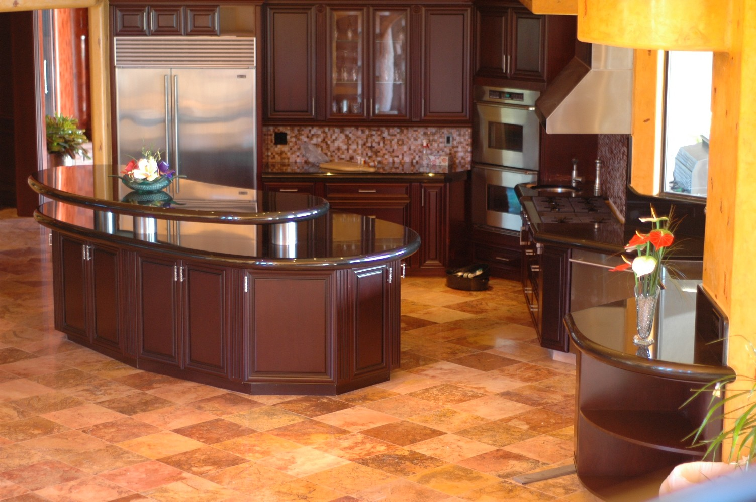 granite kitchen design ideas photo - 8