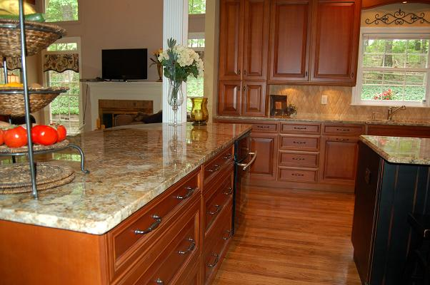 granite kitchen design ideas photo - 9