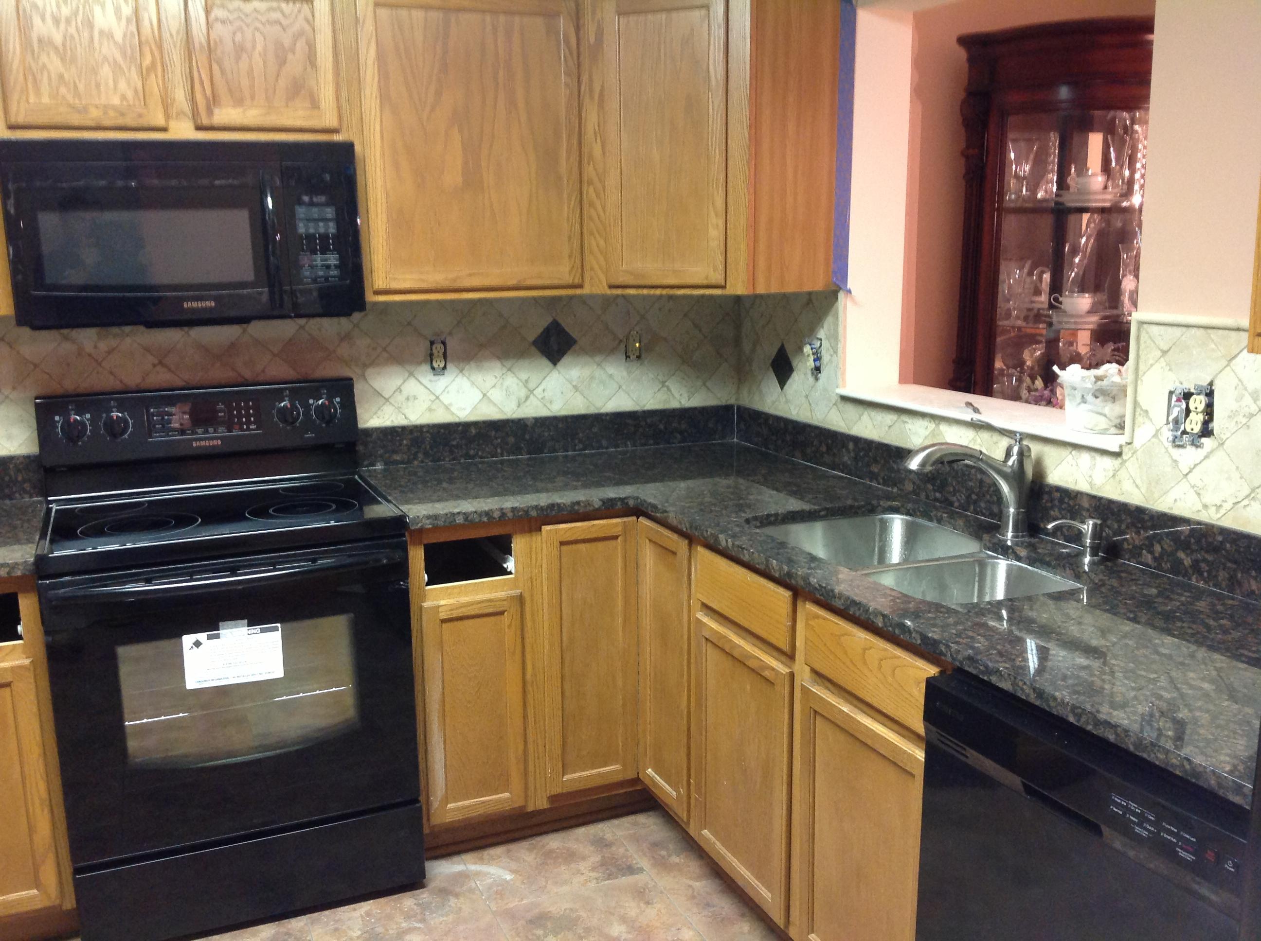 granite kitchen designs pictures photo - 2