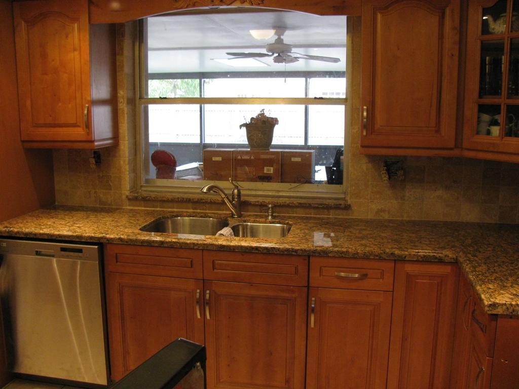 granite kitchen designs pictures photo - 7